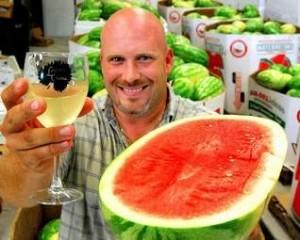 A Toast to Watermelon Wine...you heard right, watermelon!