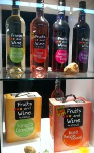 Fruit and Grape Wine Blends Hitting the World Stage at Vinexpo