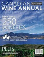Canadian Wine Annual Includes New Brunswick Fruit Wineries