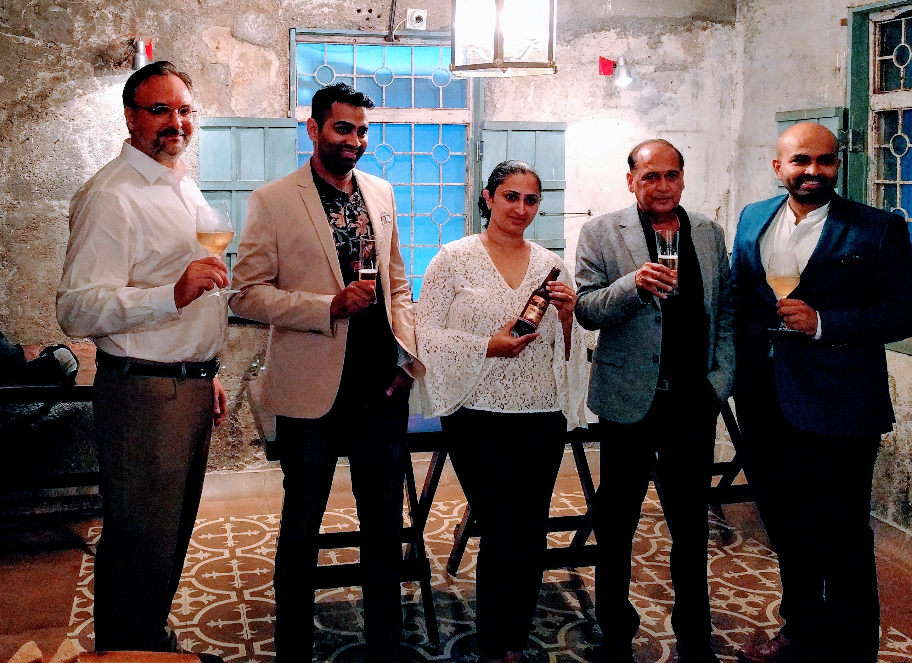 Launch of World's First Chikoo Wine..wow!